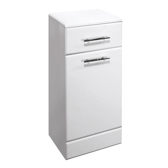 Premier 350x330mm Classic Laundry Unit Gloss White