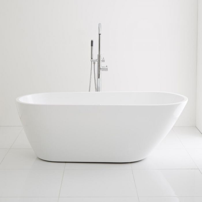 Milano Irwell - 1670mm x 730mm Contemporary Freestanding Bath