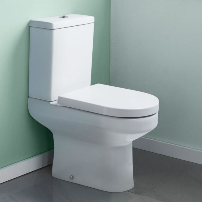 Milano Harmony Toilet Pan Cistern and Seat