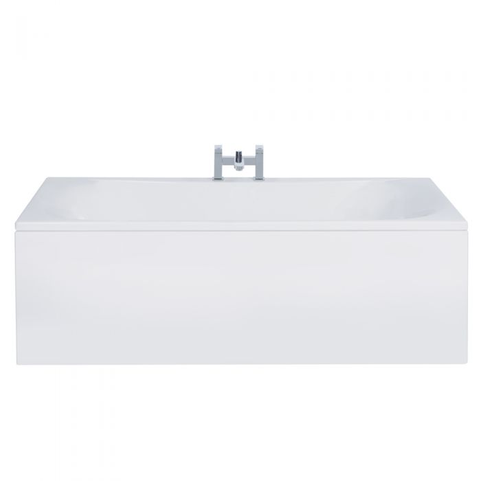 Milano Mineral - 1800mm x 800mm Double Ended Standard Bath