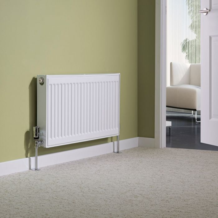 Milano Compact - Single Panel Radiator - 400mm x 800mm (Type 11)