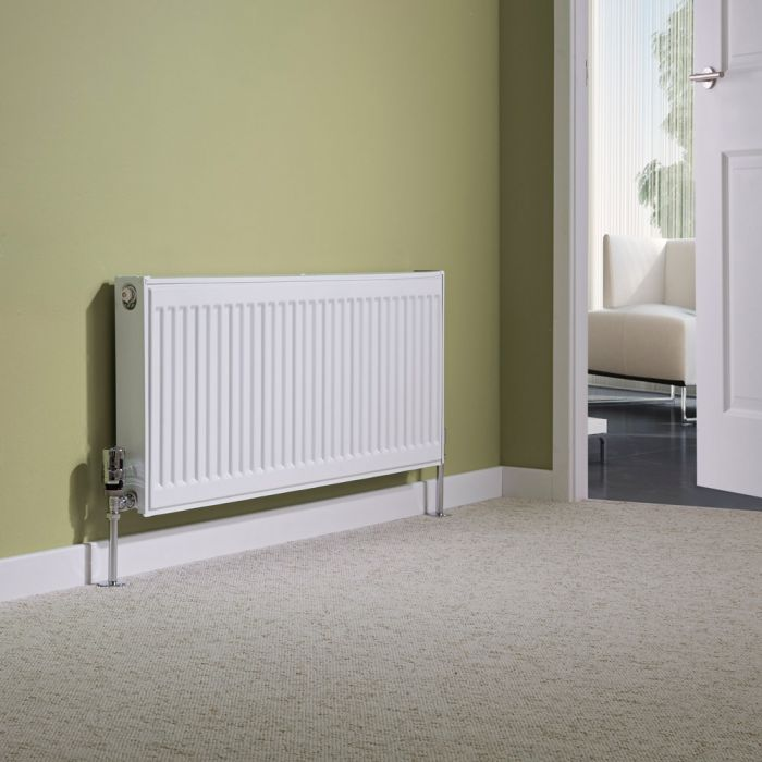 Milano Compact - Single Panel Radiator - 400mm x 1000mm