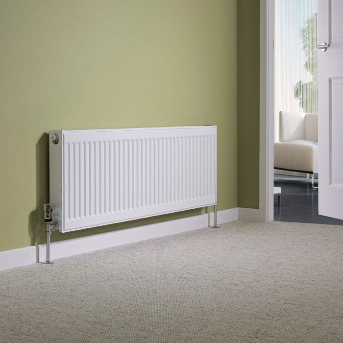 Milano Compact - Single Panel Radiator - 400mm x 1200mm