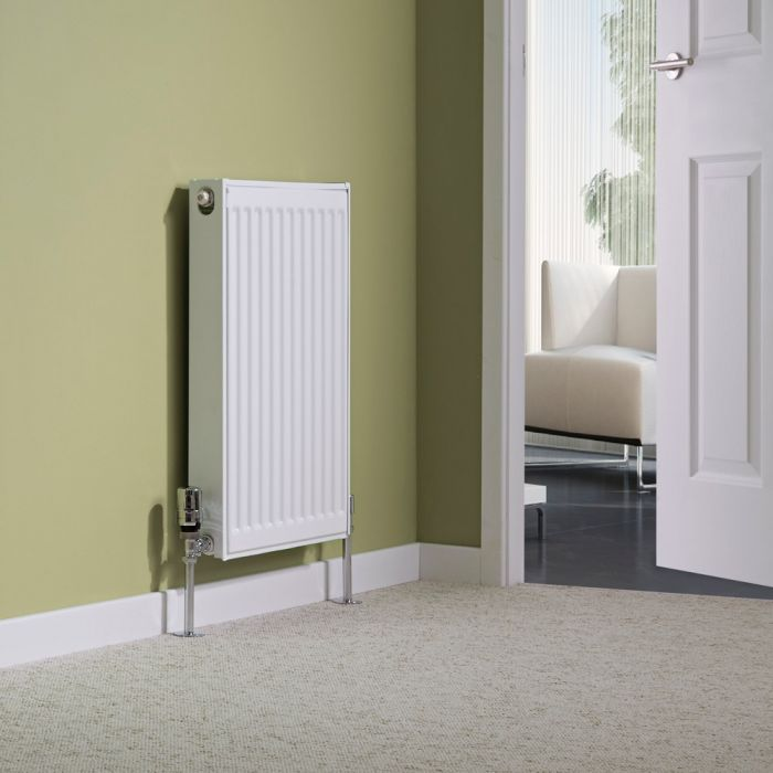Milano Compact - Single Panel Radiator - 600mm x 400mm (Type 11)