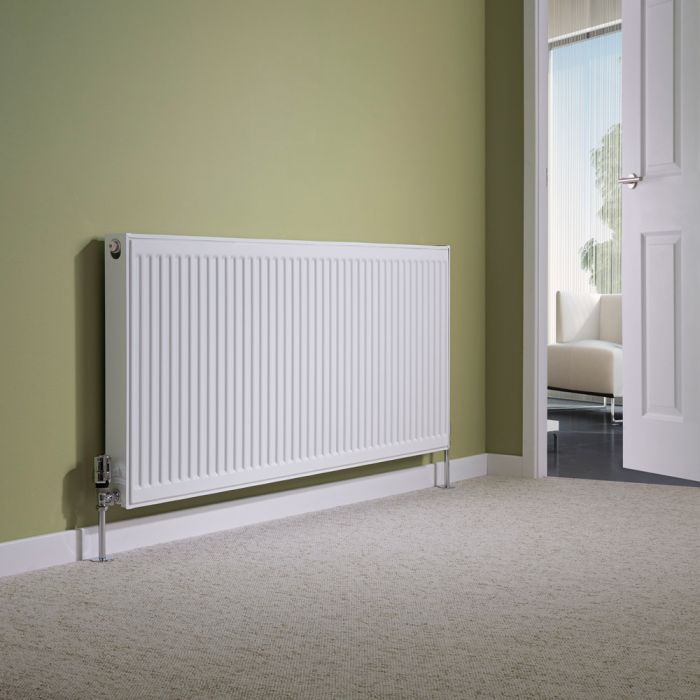 Milano Compact - Single Panel Radiator - 600mm x 1400mm (Type 11)