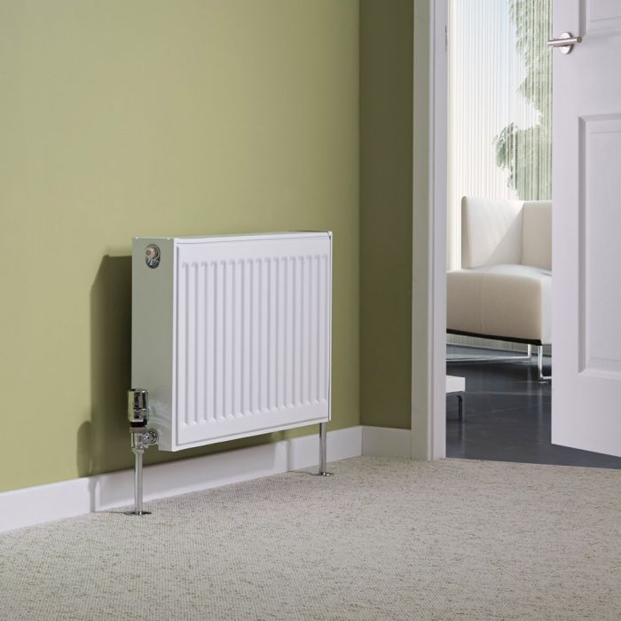 Milano Compact - Double Panel Radiator - 400mm x 600mm (Type 22)