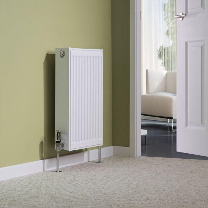 Milano Compact - Double Panel Radiator - 600mm x 400mm (Type 22)