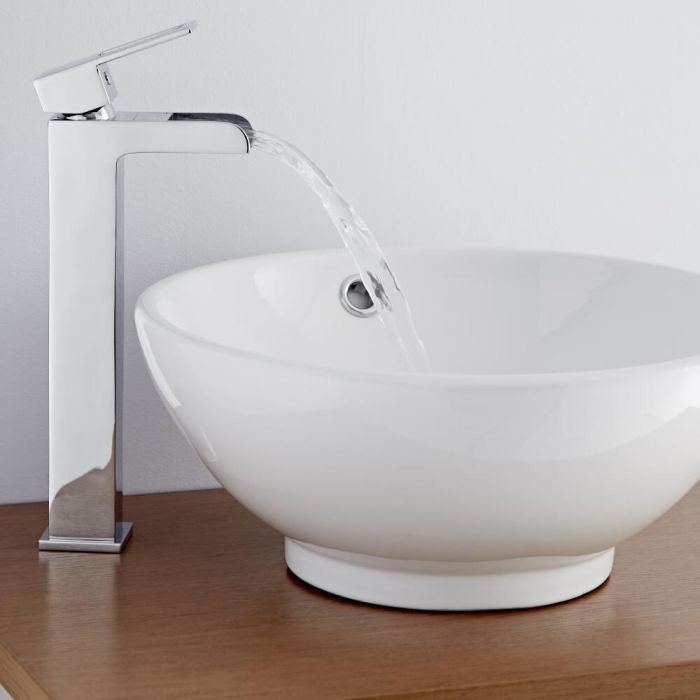 Milano Parade High Rise Basin Mixer Tap