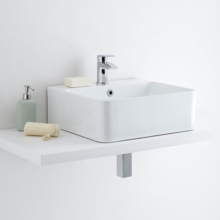Milano Farington - Ceramic Countertop Basin 460 x 420mm
