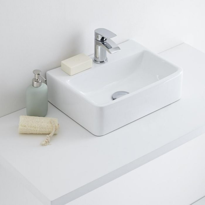 Milano Farington - Ceramic Countertop Basin 400 x 295mm