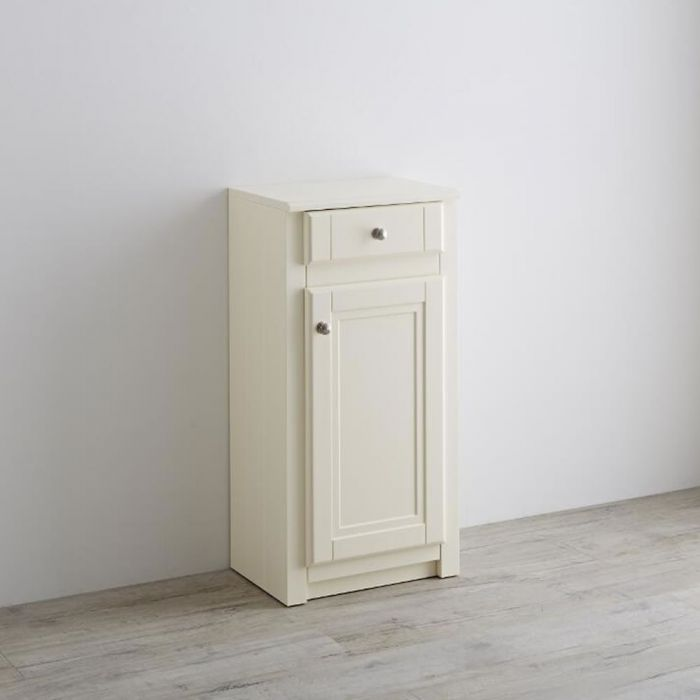 Milano Edgworth 400mm Traditional Storage Unit - Ivory