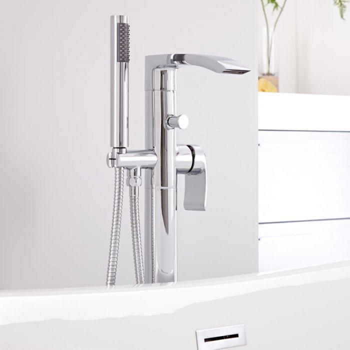 Milano Razor Freestanding Bath Shower Mixer Tap