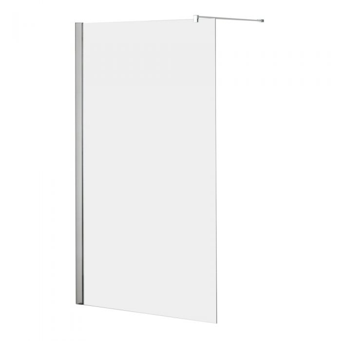 Milano Portland Wet Room Screen 760mm x 1950mm