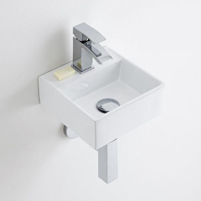 Milano Dalton - Ceramic Wall Hung Basin 280 x 280mm