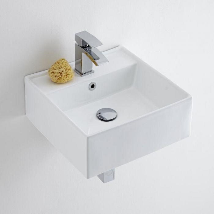 Milano Dalton - Ceramic Wall Hung Basin 410 x 410mm