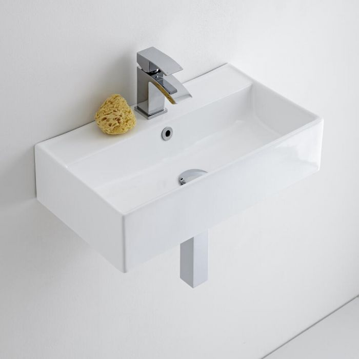 Milano Dalton - Ceramic Wall Hung Basin 550 x 315mm