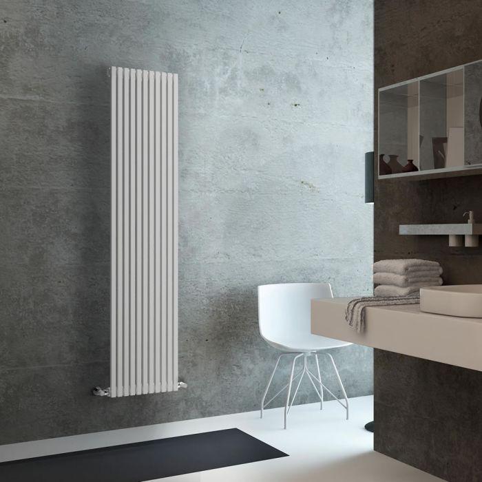 Lazzarini Way - Grosseto V - White Designer Radaitor - 1806 x 392mm