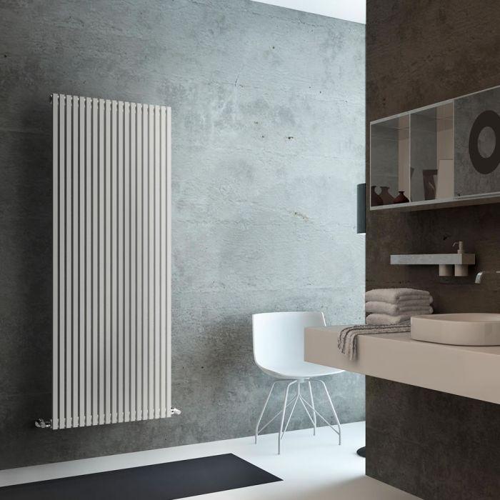 Lazzarini Way - Grosseto V - White Vertical Designer Radiator - 1806mm x 680mm