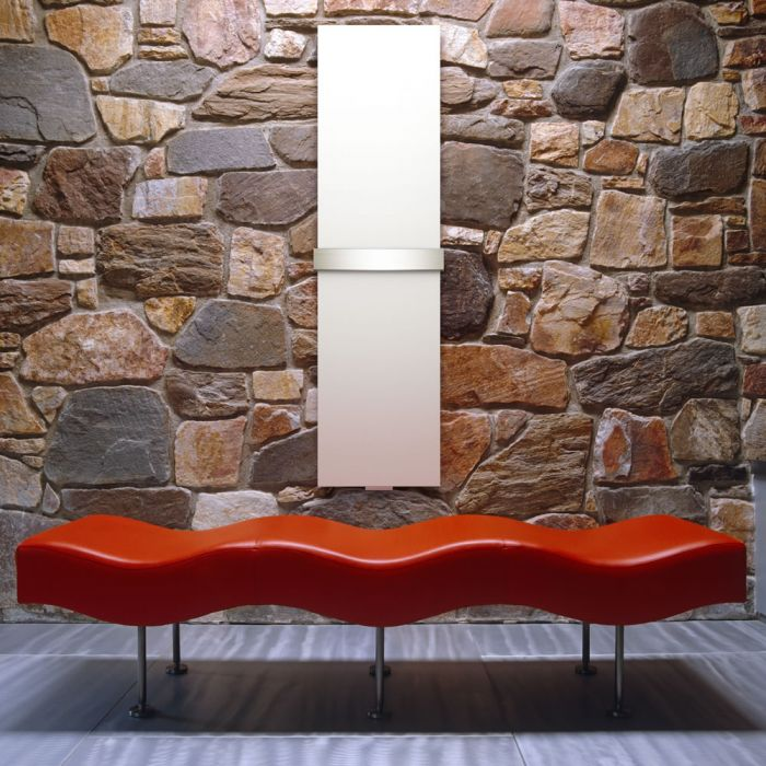 Lazzarini Way Ischia - White Vertical Designer Radiator - 1800mm x 450mm
