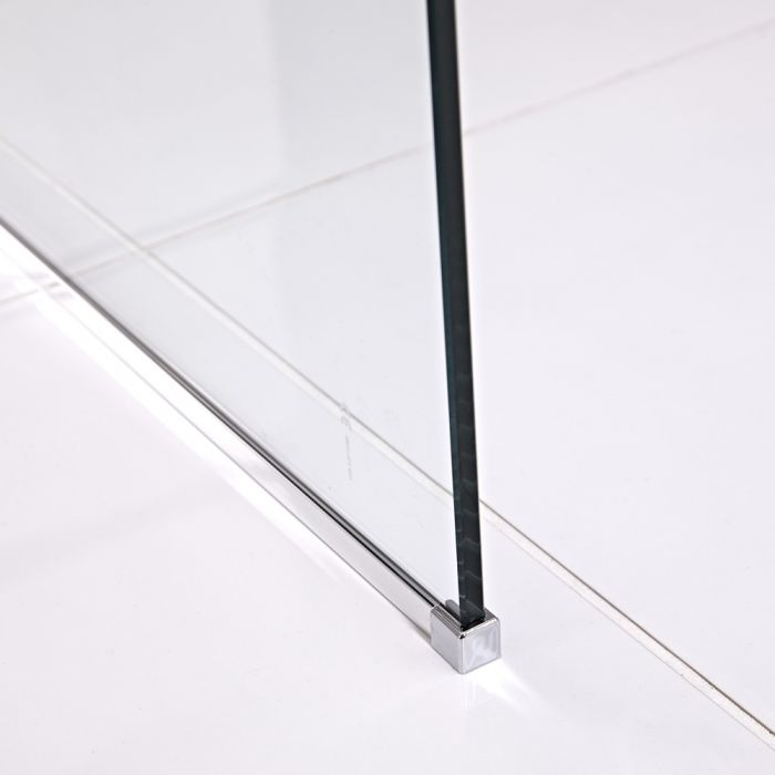 Milano Portland Floor Channel - Chrome