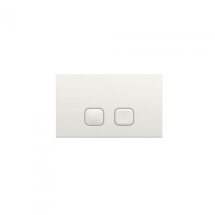 Milano Novus Square White Flush plate