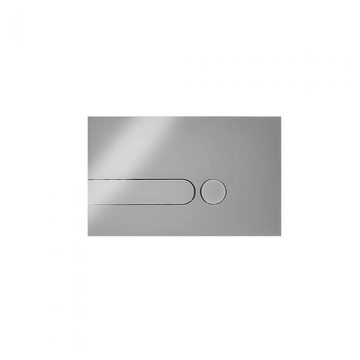 Milano Novus Dot Chrome Flush Plate