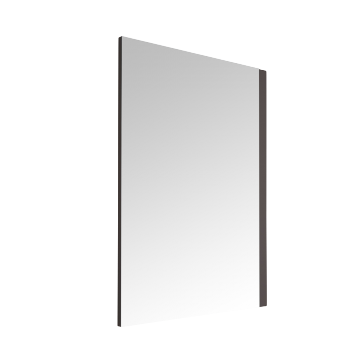 Milano Oxley - Matt Grey Mirror - 1000mm x 750mm