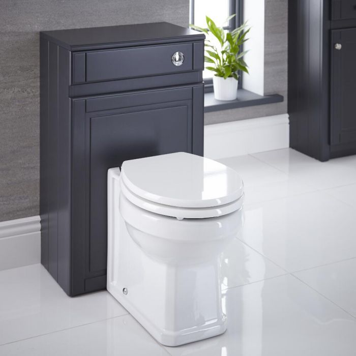 Milano Edgworth - Anthracite Traditional 500mm WC Unit