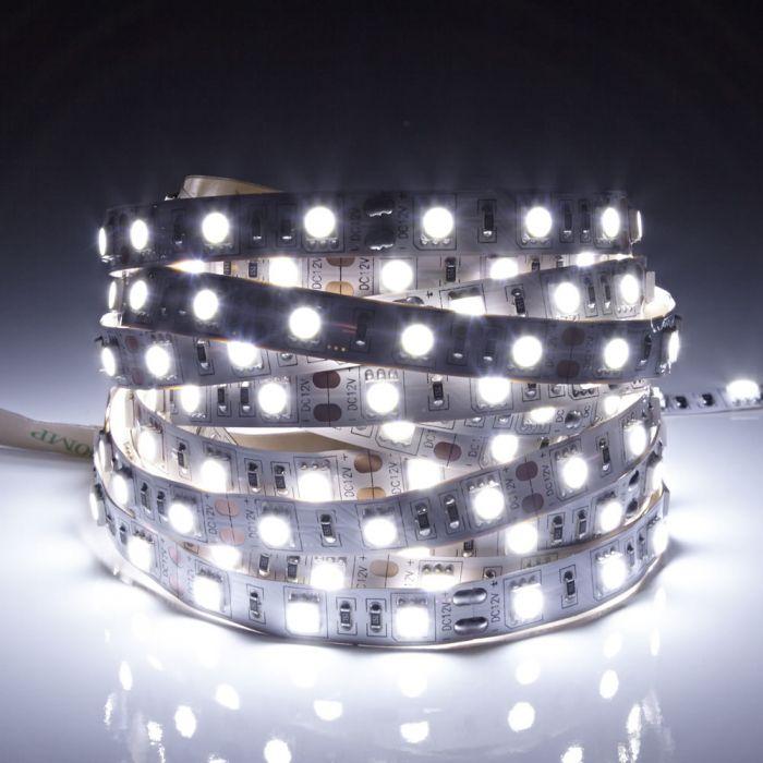 Biard LED IP20 5m 5050 Strip Light - Cool White