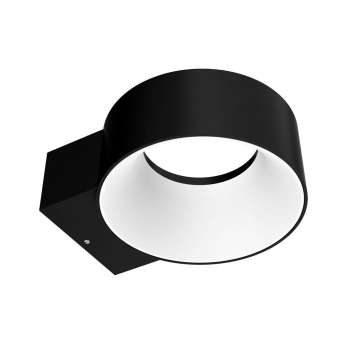 Biard Faro IP65 LED Halo Outdoor Wall Light