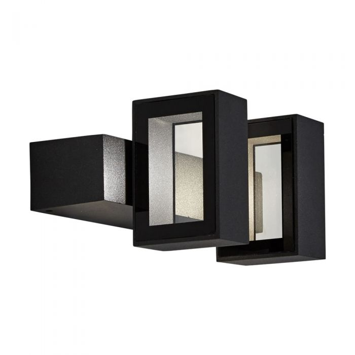 Biard Brno IP65 LED Square Up/Down Outdoor Wall Light - Anthracite