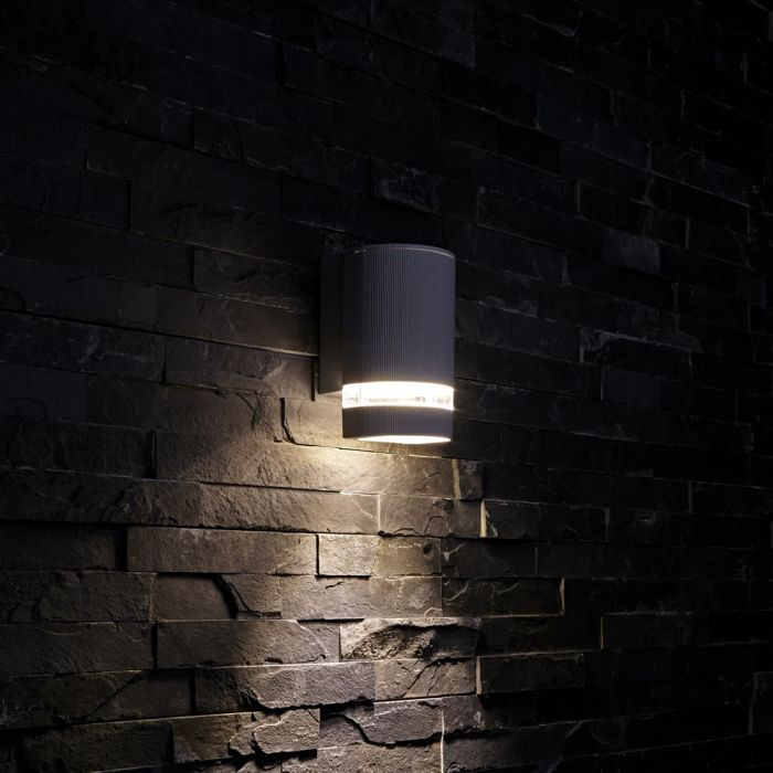 Biard Architect IP54 Round Up or Down Outdoor Wall Light