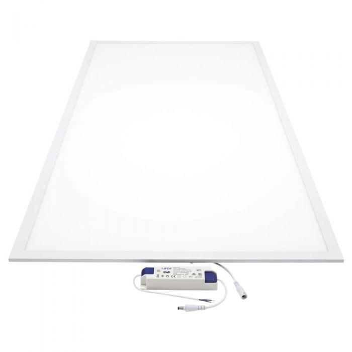Biard LED 60W 1200mm x 600mm Panel Light - White Frame