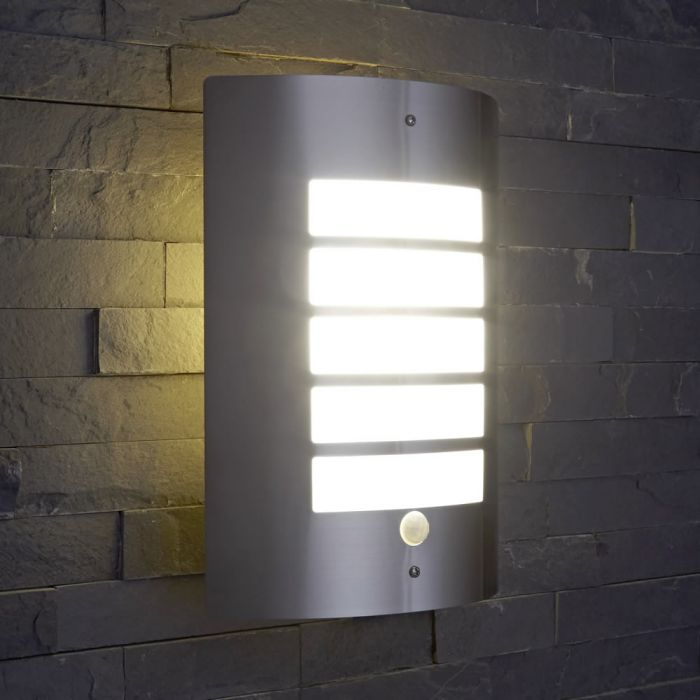 Biard Orleans IP44 Outdoor Wall Light with PIR
