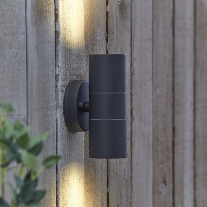 Biard Le Mans Up/Down Outdoor Wall Light - Anthracite