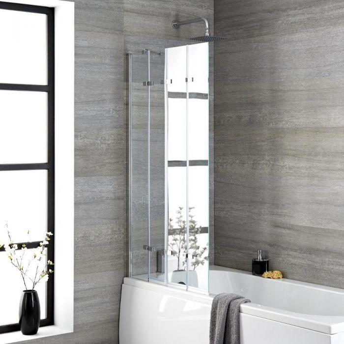 Milano Portland - Folding Shower Bath Screen