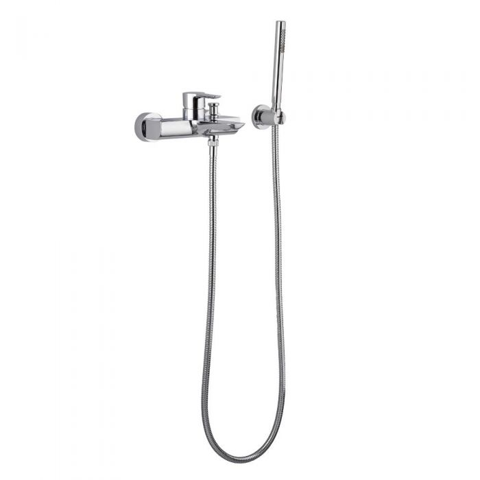 Milano Alston - Wall Mounted Bath Shower Mixer Tap