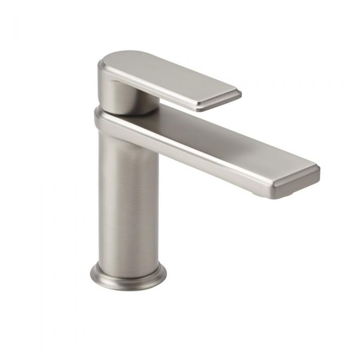 Milano Ashurst - Modern Mono Basin Mixer - Brushed Nickel