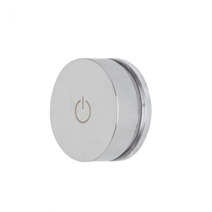 Milano Vis - 1 Outlet Twin Valve for Digital Shower Control System - Chrome