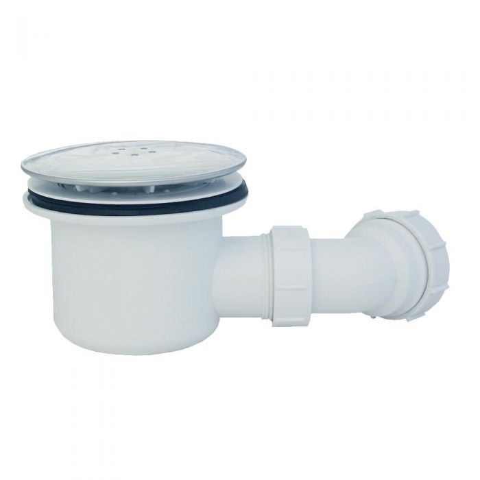 Milano - Shower Waste Chrome Cap 90mm