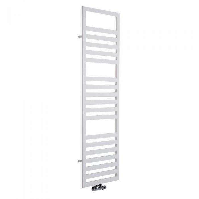 Lazzarini Way - Urbino - White Designer Heated Towel Rail - 1600mm x 500mm