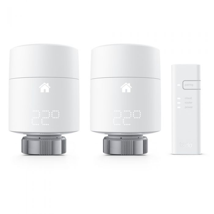 Tado - Smart Radiator Thermostat Kit - Vertical