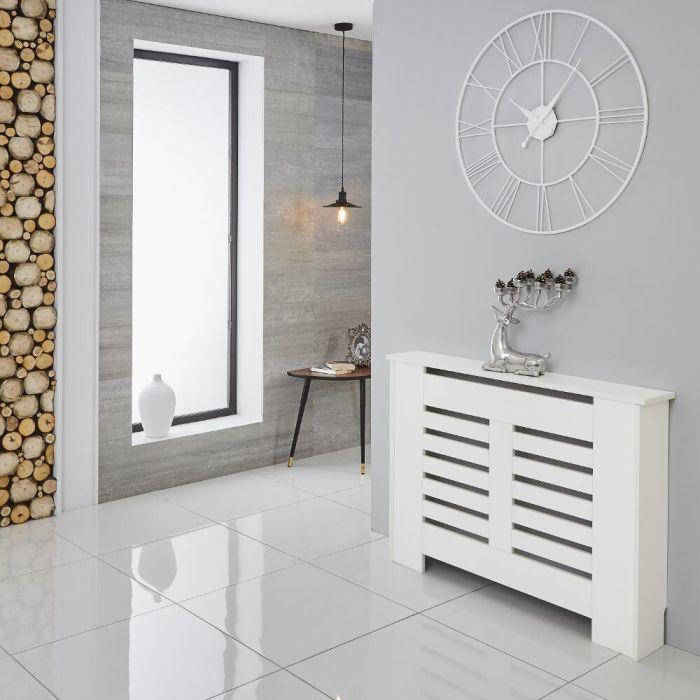 Milano Elstree - White Radiator Cabinet - 820mm x 1110mm