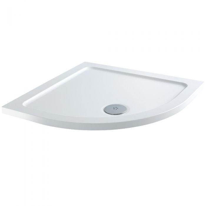 Milano Low Profile Quadrant Shower Tray 800 x 800mm