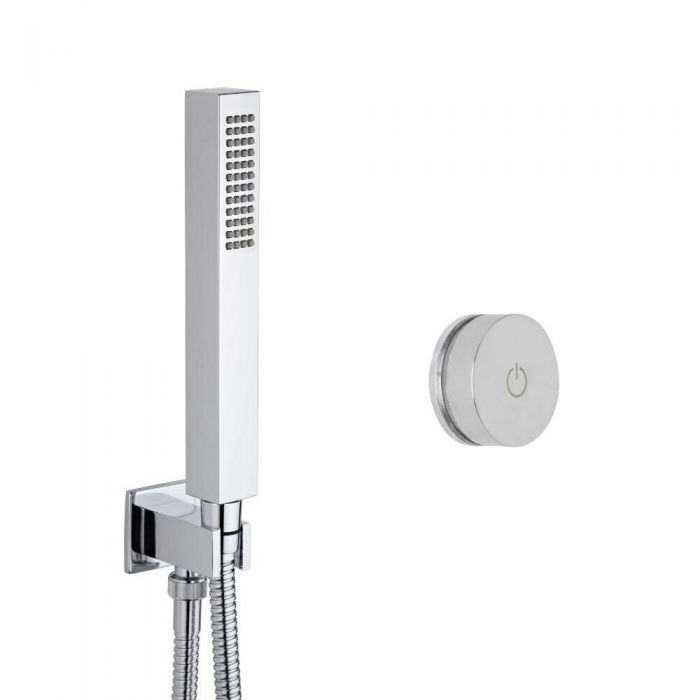 Milano Vis One Outlet Digital Thermostatic Shower with Square Hand Shower