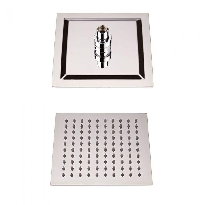 Milano 200mm Square Fixed Shower Head