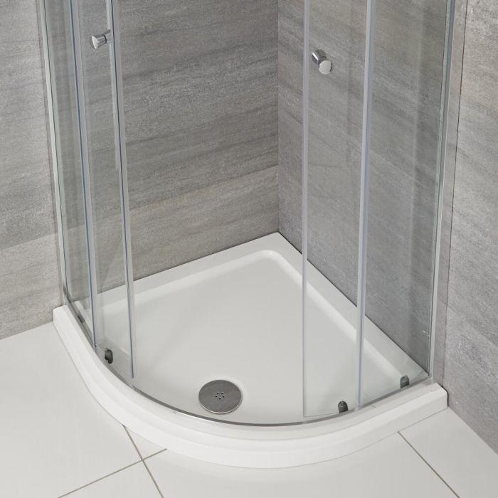 Milano - Low Profile Quadrant Shower Tray - Choice of Sizes