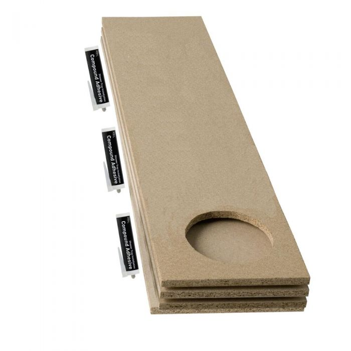 Milano Shower Tray Baseboard Accessory Kit Universal