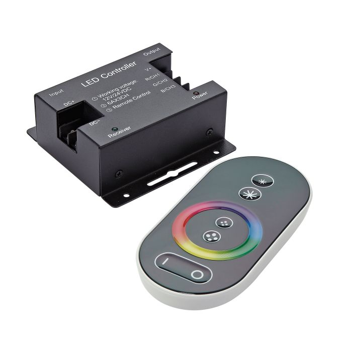 Biard Controller with Touch Remote for RGB LED Strip Lights