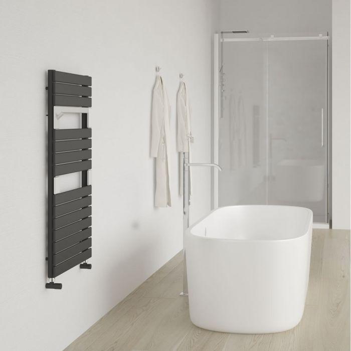 Lazzarini Way - Torino - Anthracite Designer Heated Towel Rail - 952mm x 550mm